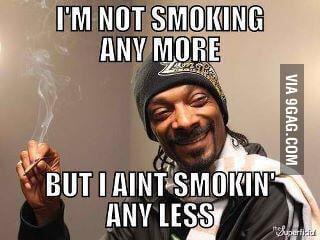 When My mom ask me if I smoke anymore - 9GAG