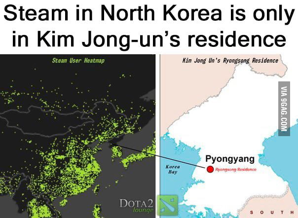 Guess who's the best dota 2 player in north korea - 9GAG