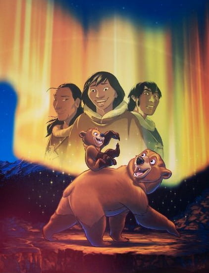 This Movie Is One Of My All Time Favorites Great Story Amazing Music And Beautifully Animated Brother Bear 2003 9gag