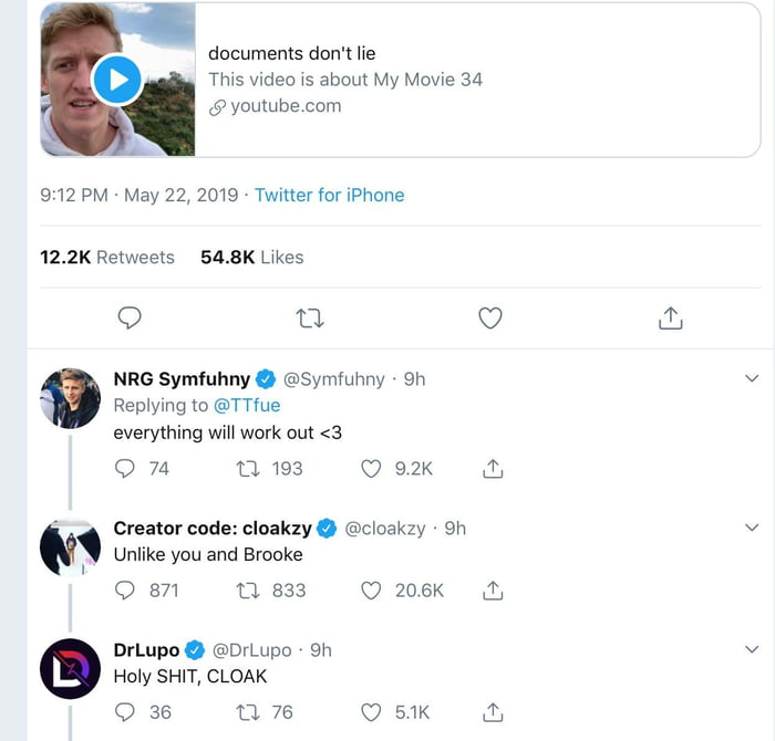 Streamers responding to the TFue vs  Faze situation on