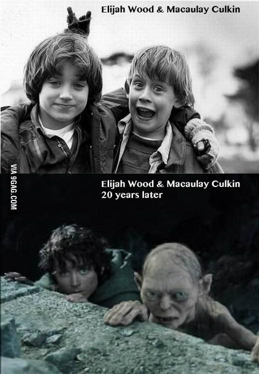 Elijah Wood & Macaulay Culkin 20 years later