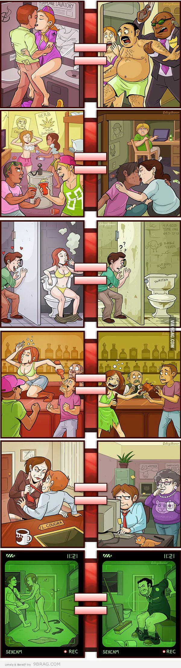 Porn Vs Reality