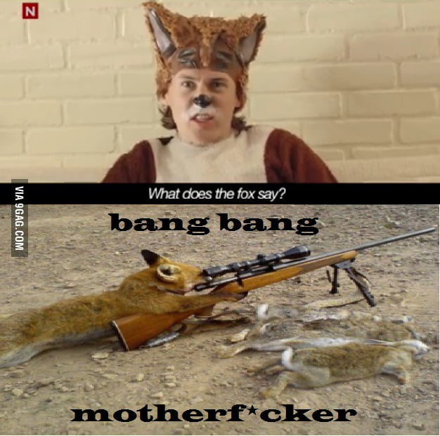What Does The Fox Say? - 9GAG - photo#34