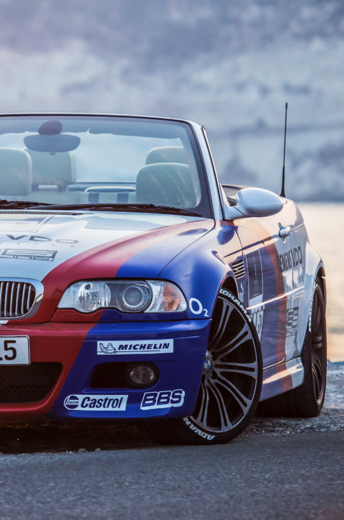 I Ve Fallen In Love With The E46 Gtr When Visiting The Bmw Museum Wrapped My M3 To Match It What You Think 9gag