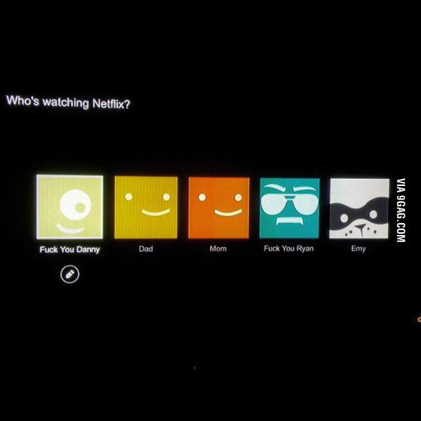 Who's watching Netflix? - 9GAG