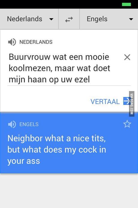 That Dutch Google Translate Tho 9gag