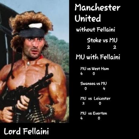 Lord fellaini effect