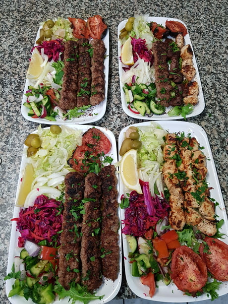 Traditional BBQ platters for those who are really hungry