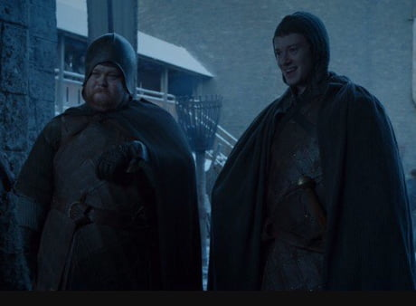 Pretty sure these two were in charge of HBO security.
