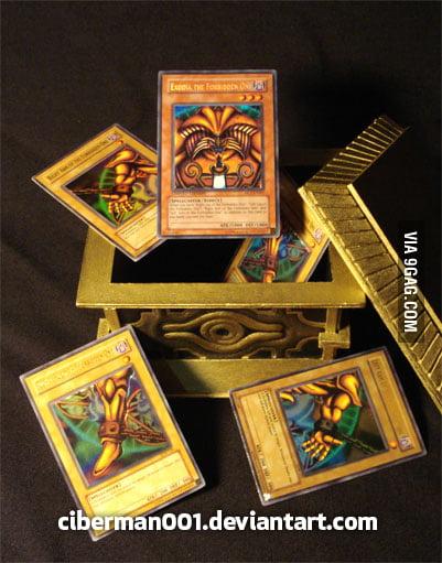 Handmade Gold Sarcophagus Yugioh! - 9GAG