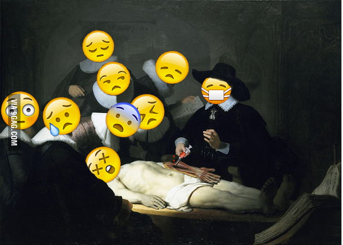 The Anatomy Lesson of Dr. Nicolaes Tulp\