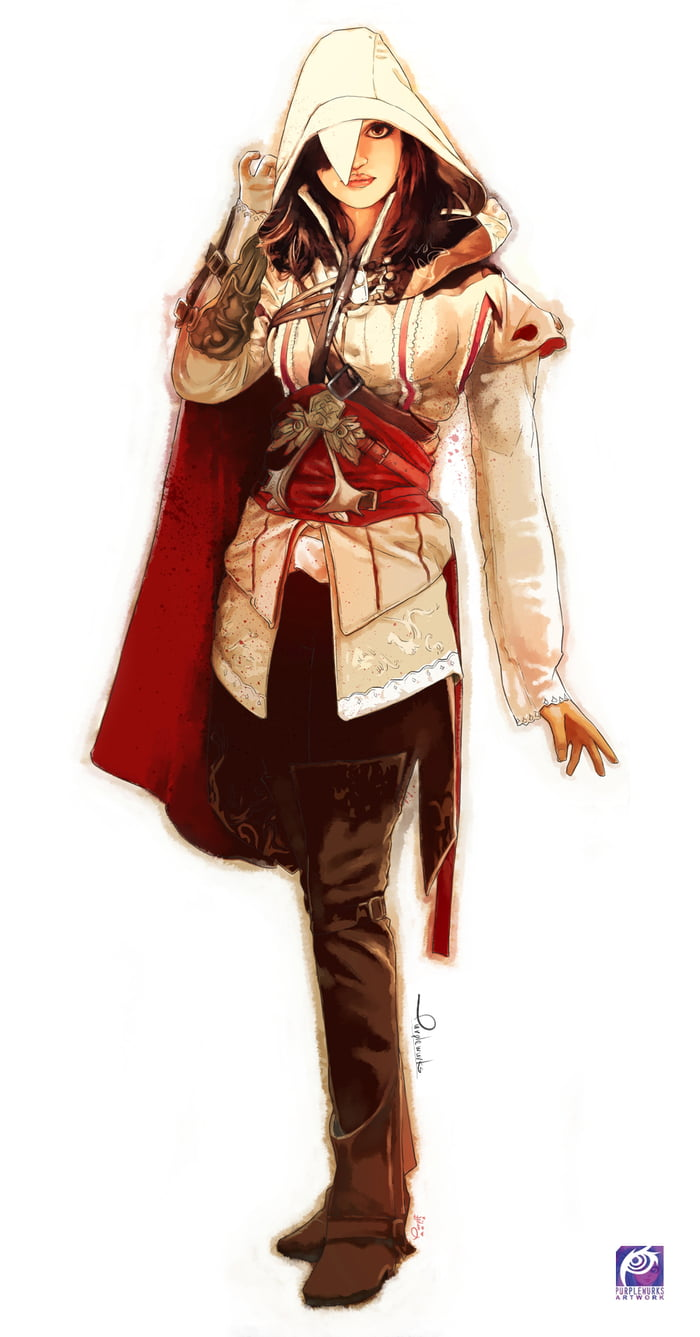 Girl Assassin Creed Fan Art By Me 9gag