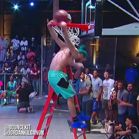 Jordan Kilganon's dunks from The Dunk King...insane!!