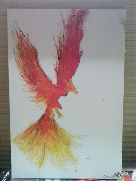 My ten years old brother did this. What do u think? (it is a fenix btw)