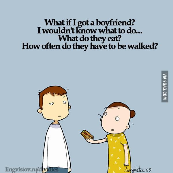 What if I got a boyfriend?