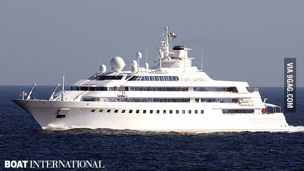 105 Meter Yacht Lady Moura 9gag