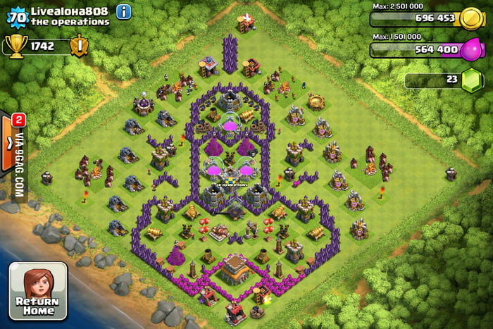 the best clash of clans base layout