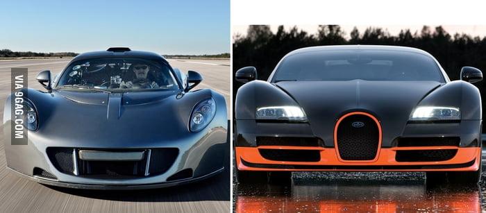 Venom vs bugatti