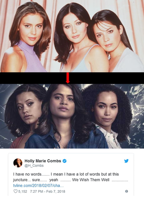 Remember the 90's show Charmed? They remade it  And it's