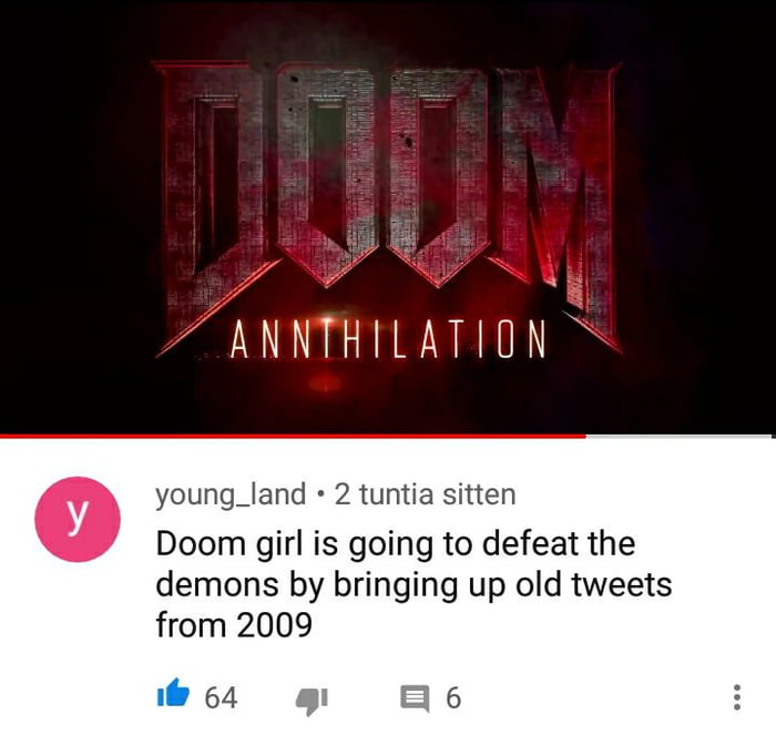 doom annihilation who needs doomguy