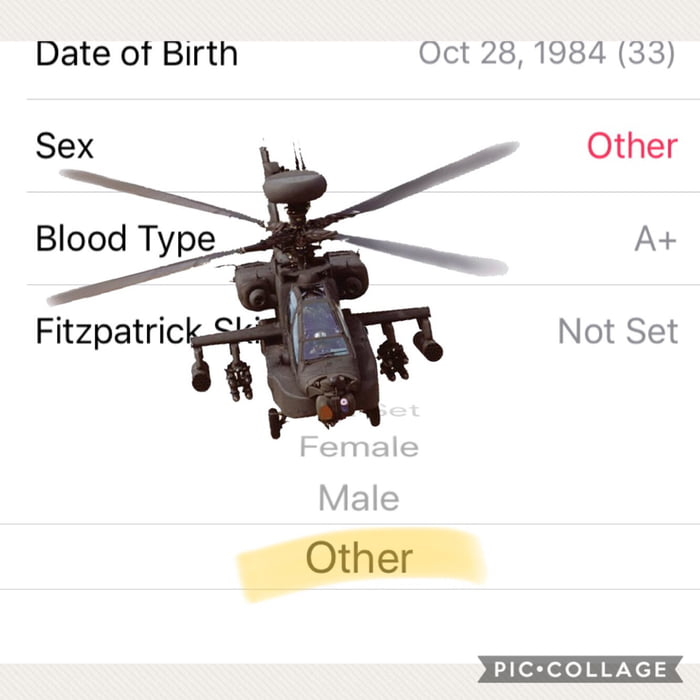 Sex?: I'm a f**king apache Helicopter