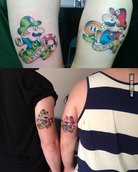 My Brother And I Got Big Brotherlittle Brother Tattoos 9gag