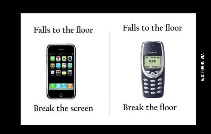 Oops     dropped my phone - 9GAG
