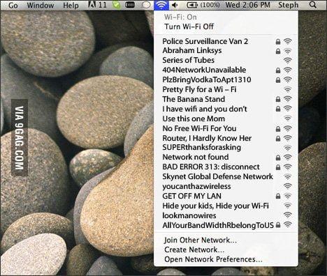 Wi-Fi names