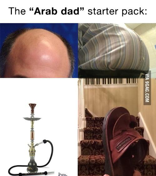 Arabic Dad Starter Pack 9gag