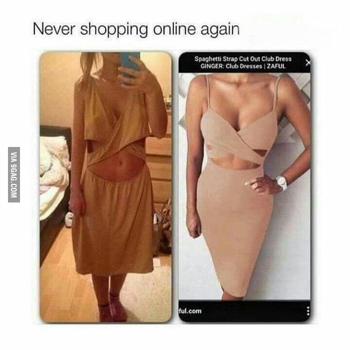 Online Shopping Vs Reality 9gag
