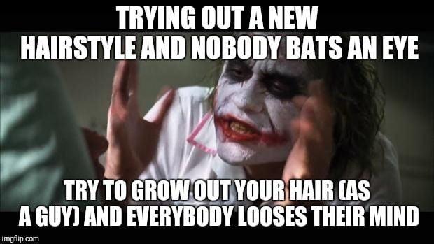 Month 5 Still Hearing Jokes About My Hair 9gag