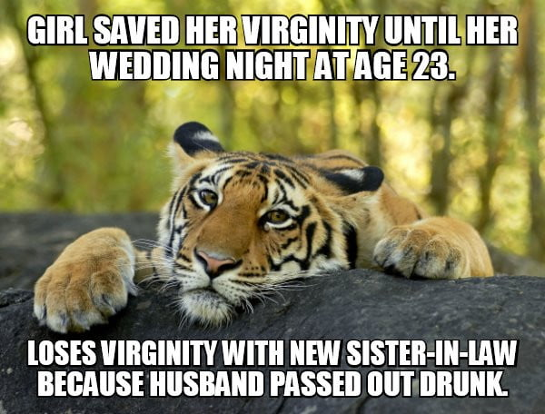 Girl saved her virginity until her wedding night at age 23