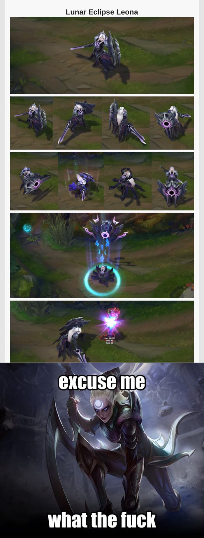When Leona Gets A Lunar Eclipse Skin 9gag