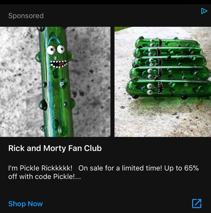 Is 9GAG trying to sell me Pickle Rick dildos because alright sign me up! - 9GAG Is 9GAG trying to sell me Pickle Rick dildos because alright sign me up! - 웹