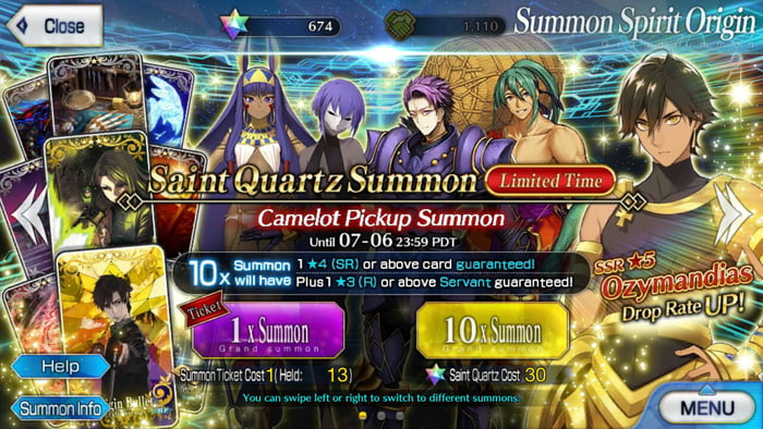 New Banner Servants in FGO with the new Singularity, worth it to