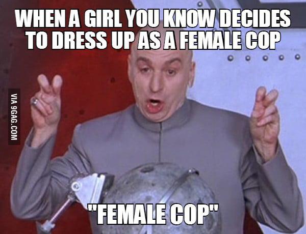 Female cop stripper uniforms — photo 1
