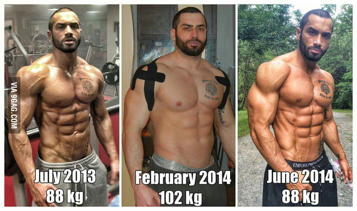 Lazar Angelov experimented - ate over a half year mainly