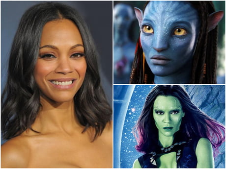 Zoe Saldana Is Hollywood S Only Star Leading Multiple 2