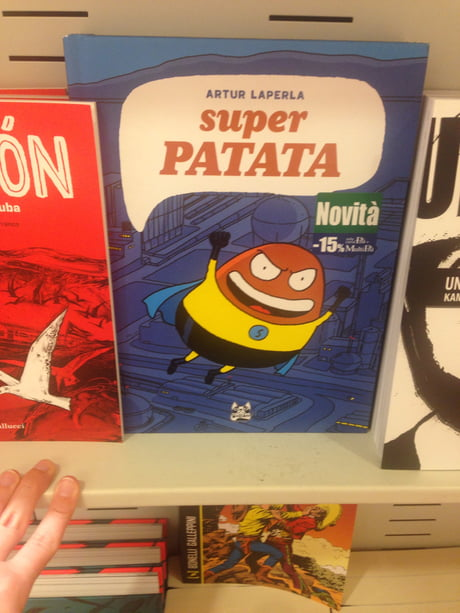 Found This Book In An Italian Library Super Potato To The