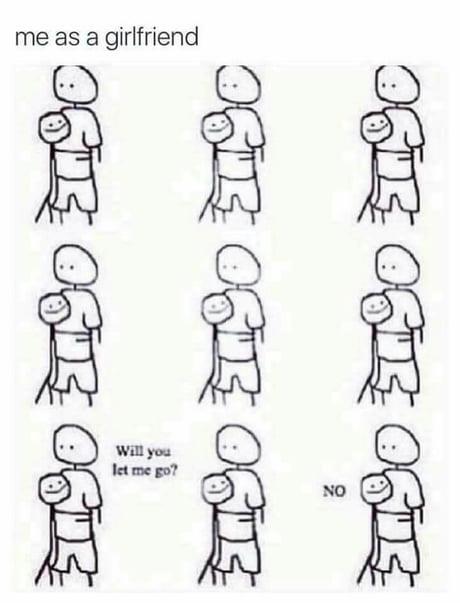 Me as a girlfriend...