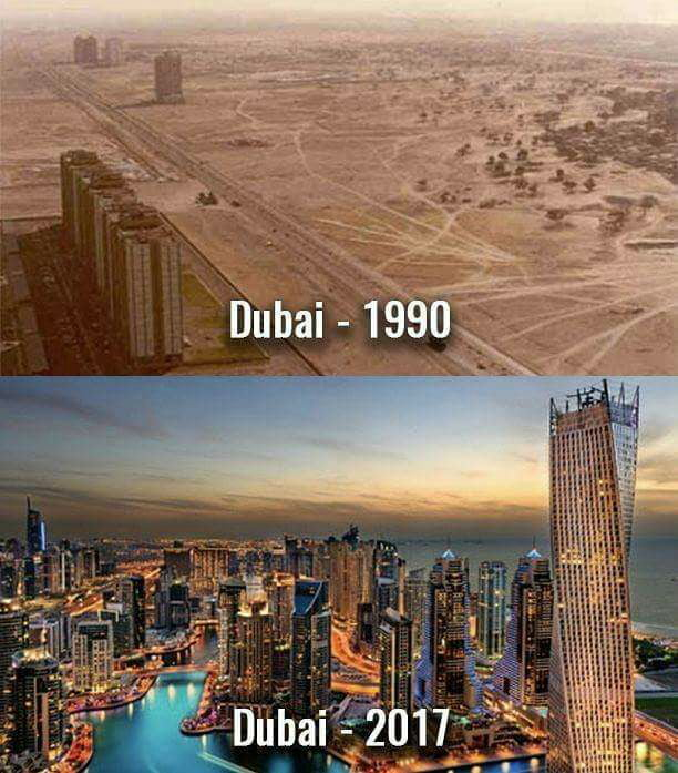 Type Of Car Oil >> Dubai before oil discovery and after - 9GAG