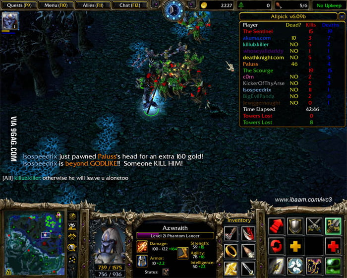 this is where dota really started warcraft 3 frozen throne 9gag
