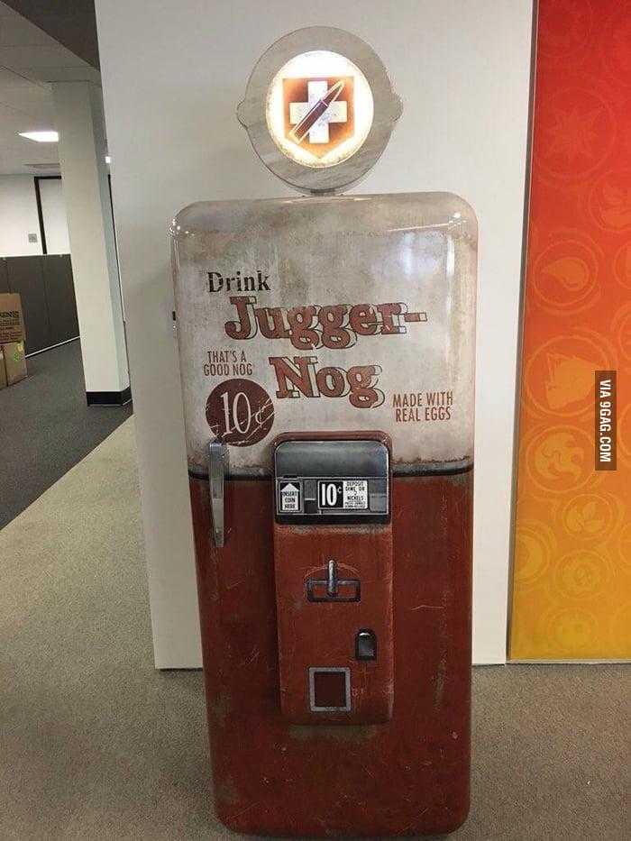 real juggernog machine