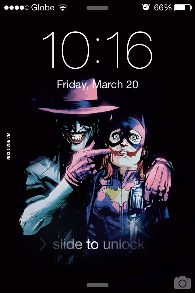 It Makes A Very Awesome Lock Screen Wallpaper 9gag