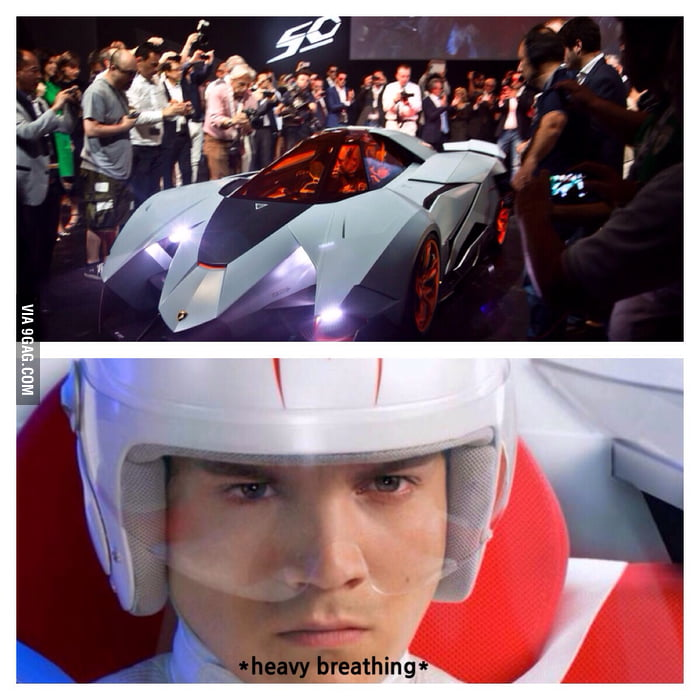 Lamborghini Egoista The Real Life Speed Racer 9gag