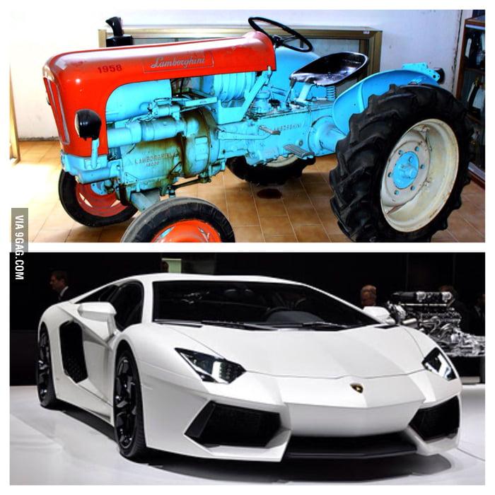 Lamborghini Old And New 9gag
