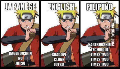 Filipino Naruto D