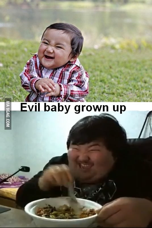 Evil Baby Grown Up