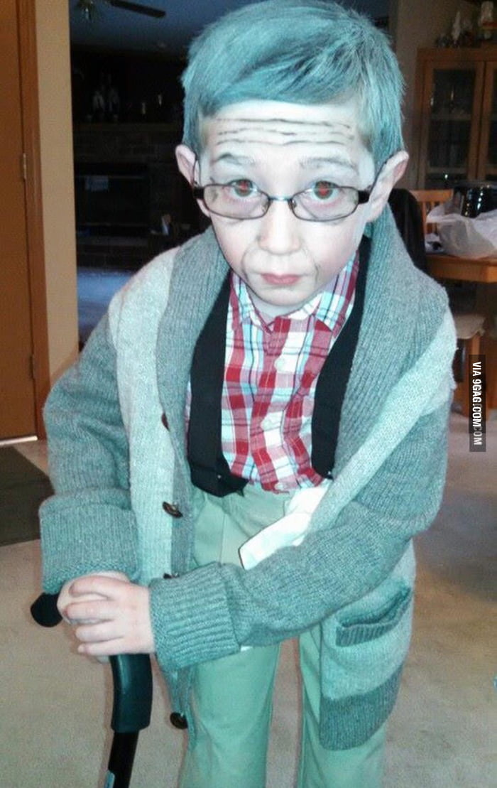 This 5 year old is celebrating his 100th day of school by