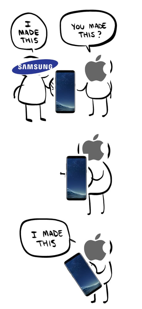 I thought the iPhone X looked familiar...